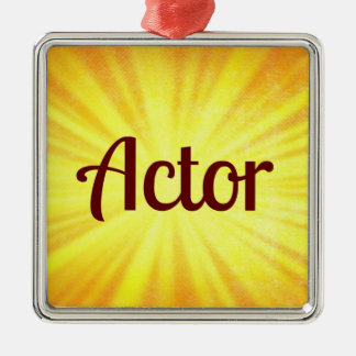 Actor Christmas Ornament