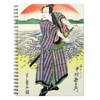 Actor Nakamura Utaemon 1813 Notebook
