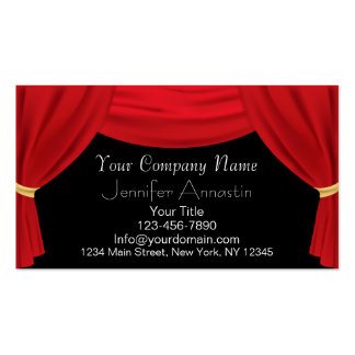 Actor or Actress Business Cards