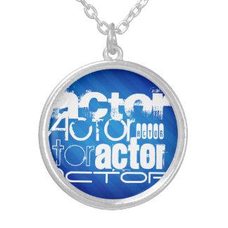 Actor; Royal Blue Stripes Pendant