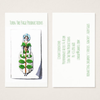 Actor Storyteller Performance Artist Business Card
