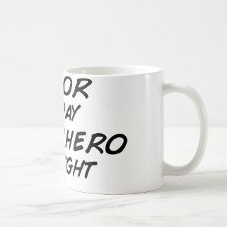 Actor Superhero by Night Basic White Mug