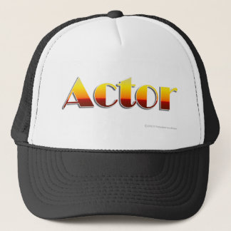 Actor (Text Only) Trucker Hat