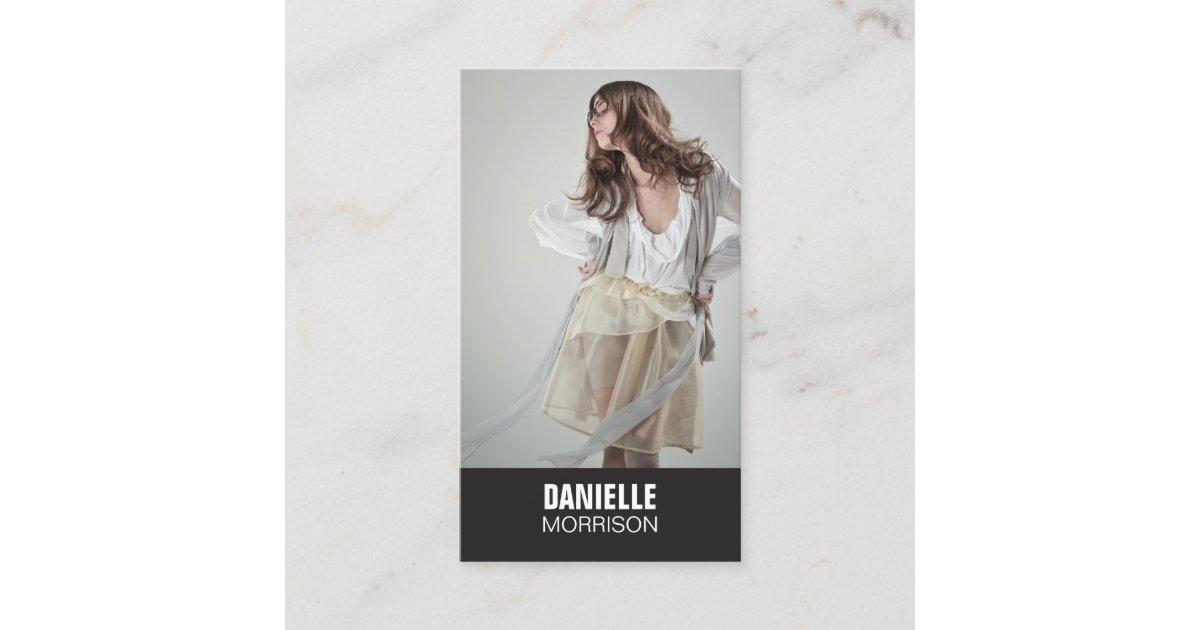 Actors and Models Headshot No. 1 Business Card   Zazzle.co.uk