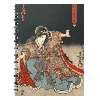 Actors Diptych 1847 Right Spiral Notebooks