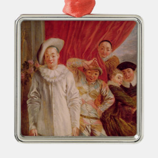 Actors of the Comedie Italienne Christmas Ornament