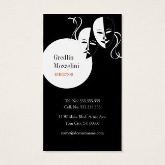 Actress / Actor / Theater Performer Business Card