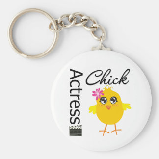 Actress Chick Key Chains