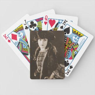 Actress Madge Bellamy 1922 Poker Deck
