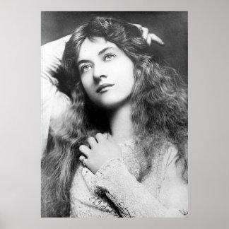 Actress Maude Fealy Print
