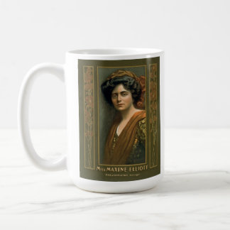 Actress Maxine Elliott 1905 Coffee Mug