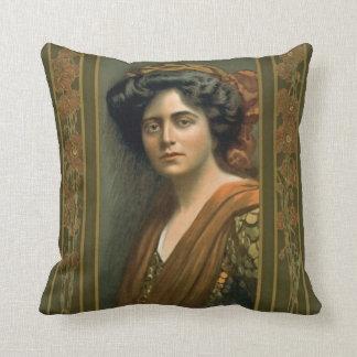 Actress Maxine Elliott 1905 Cushion