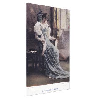 Actress Miss Dorothea Baird [1875-1933] Gallery Wrap Canvas
