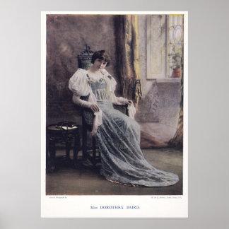 Actress Miss Dorothea Baird [1875-1933] Poster