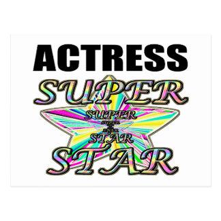 Actress Superstar Postcard
