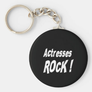 Actresses Rock! Keychain