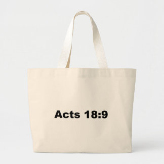 Acts 18:9 bags