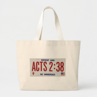 ACTS_2_38_license_plate02 Tote Bags