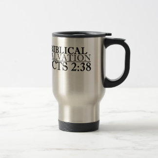 Acts 2:38 stainless steel travel mug