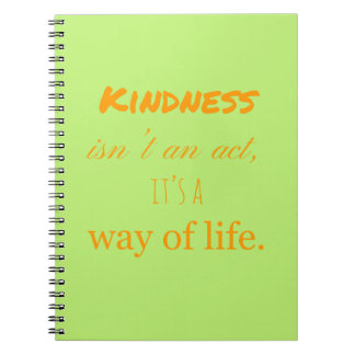Acts of Kindness Notebook. Spiral Notebooks