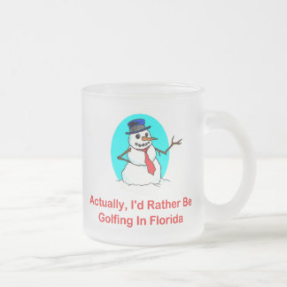 Actually, I'd Rather Be Golfing In Florida Mugs