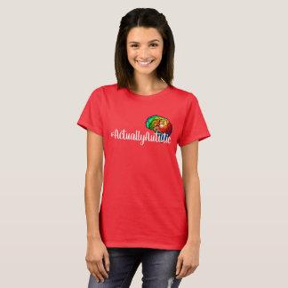 #actuallyautistic Rainbow Brain T-Shirt