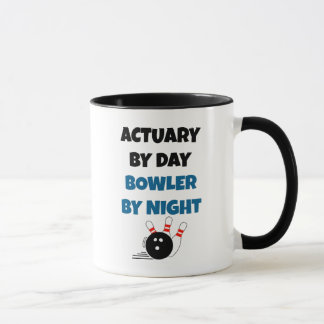 Actuary by Day Bowler by Night Mug