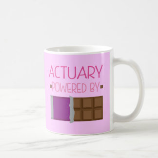 Actuary Chocolate Gift for Woman Coffee Mug