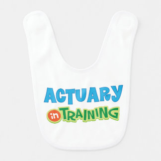 Actuary in Training Kids Shirt Bib
