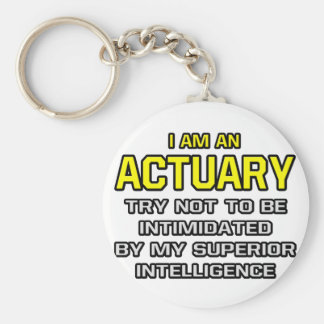 Actuary...Superior Intelligence Keychain