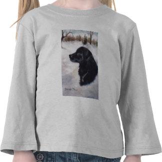 Actune Dog Portrait Girls Tshirt