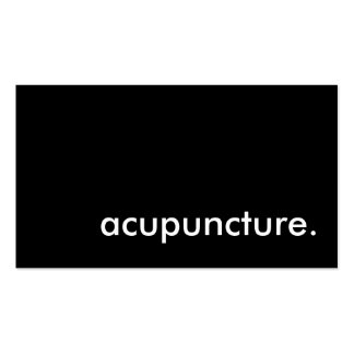acupuncture business card template