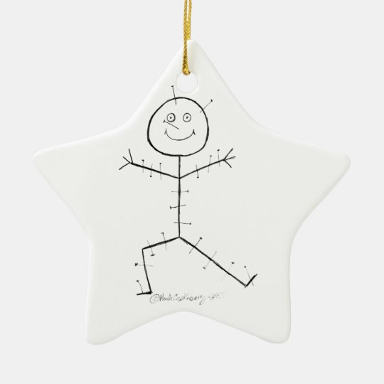 Acupuncture sticky christmas ornament