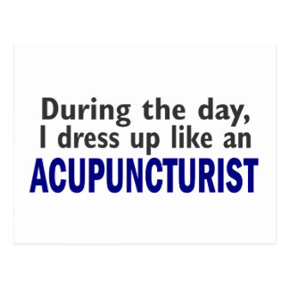 ACUPUNCTURIST During The Day Postcards