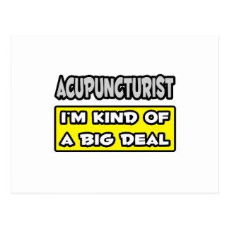 Acupuncturist .. I'm Kind of a Big Deal Postcards