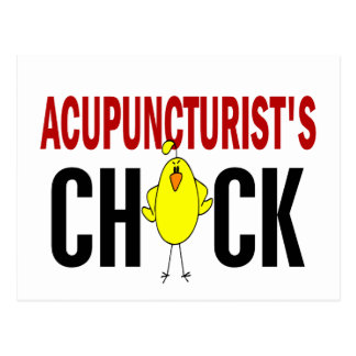 Acupuncturist's Chick Postcards