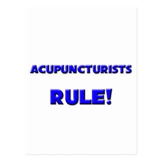 Acupuncturists Rule! Postcard