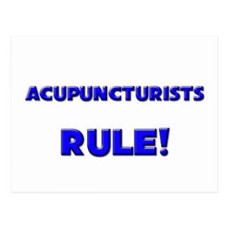 Acupuncturists Rule! Post Cards