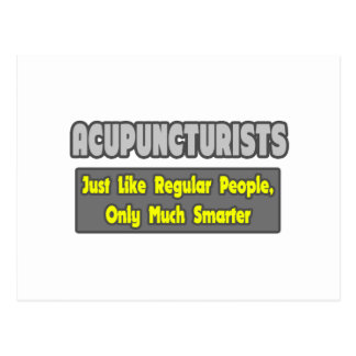 Acupuncturists .. Smarter Post Card