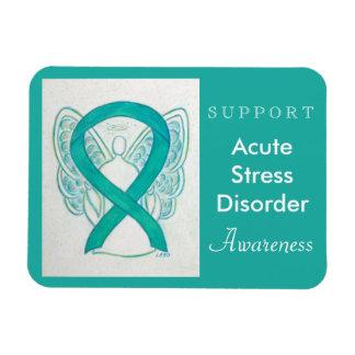 Acute Stress Disorder (ASD) Awareness Angel Magnet Rectangular Photo Magnet