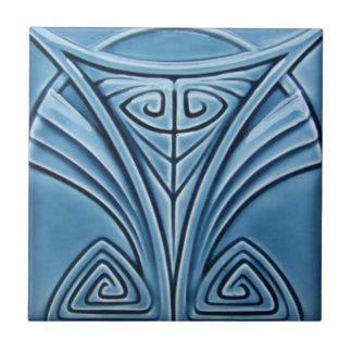 AD027 Art Deco Reproduction Ceramic Tile