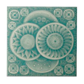AD050 Art Deco Reproduction Ceramic Tile