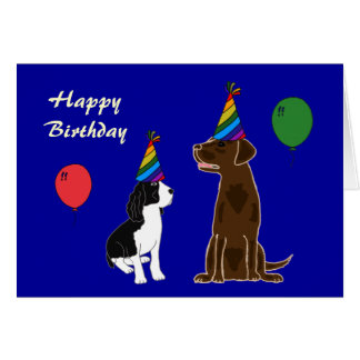 AD- Happy Birthday Puppy Card