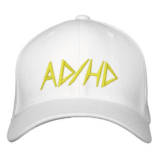 AD HD EMBROIDERED HAT