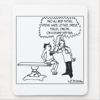 Ad Jingle in Lieu of a Heart Beat Mouse Pad