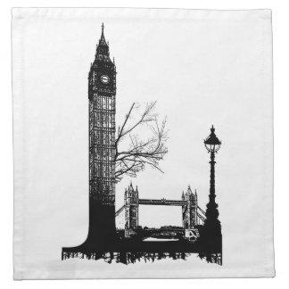 AD L like London Napkin