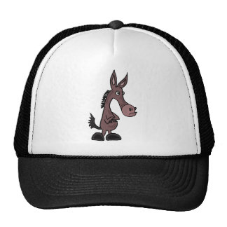 AD- Stubborn Mule or Donky Cartoon Cap