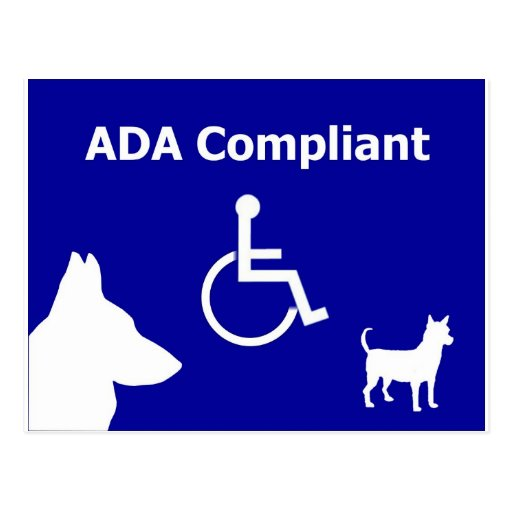 ADA Compliant Postcards