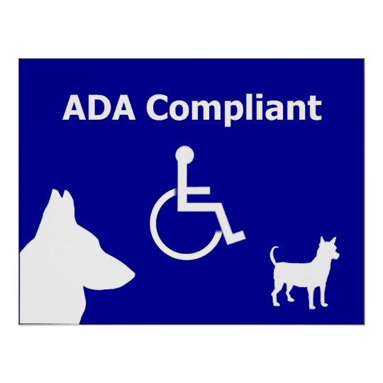 ADA Compliant Poster