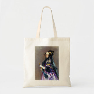 Ada King Countess of Lovelace by Alfred Chalon Tote Bag